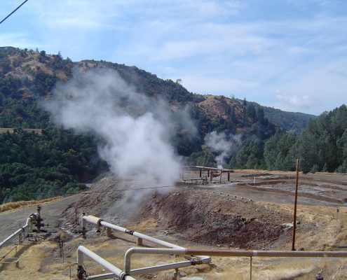 The Geysers Geothermal Field, California--photo by Enegis staff